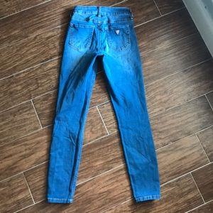 Guess Jeans - Guess High Waist Skinny Tahiana Fit Jeans